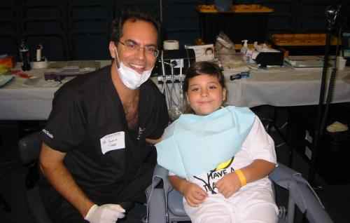Team Smile '09 Dr. Joshua Saxe and his patient