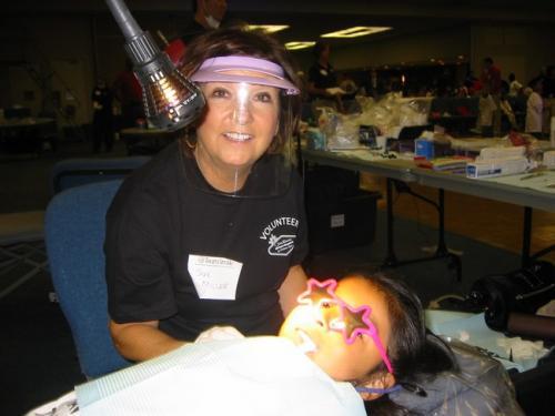Team Smile '09 Sue Miller, RDA and her Patien